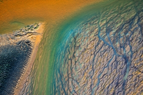 R�o Tinto. Andalucia, Spain. Aerial photography